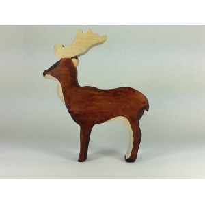 Cerf brun
