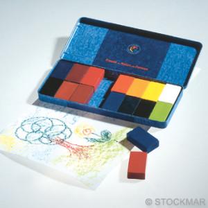 Blocs de cire à colorier Stockmar- 16 couleurs