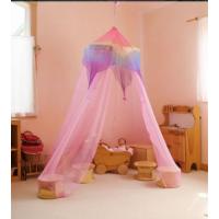 Ciel de lit en soie