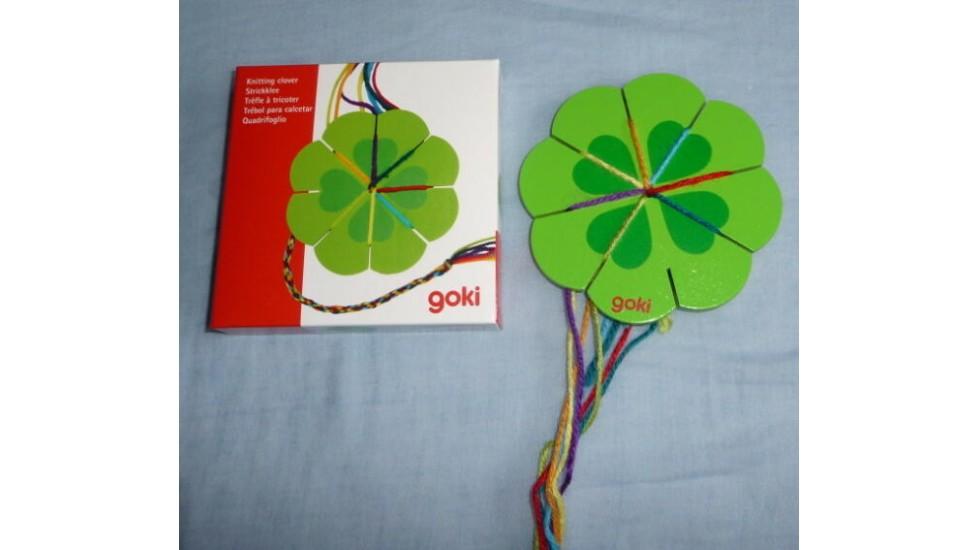 Tricotin Goki: Fleur à tricoter