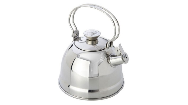 Kettle w/ whistle, Stainless Steel