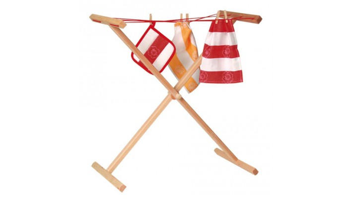 Wood Clothing Rack (Dryer)
