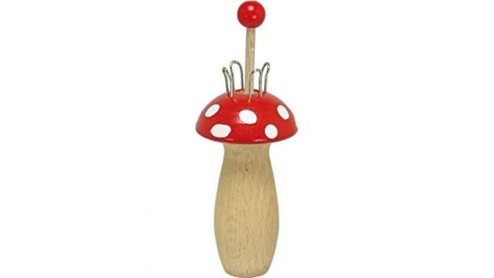Tricotin en forme de champignon
