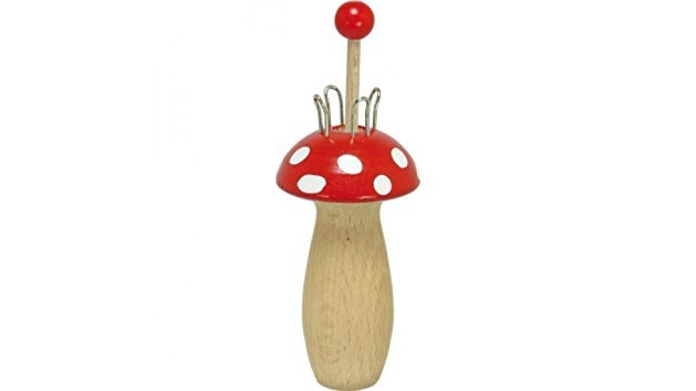 Tricottin en forme de champignon