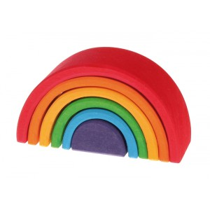 Rainbow medium stackable