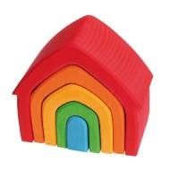 House, multi-coloured (5 pcs)