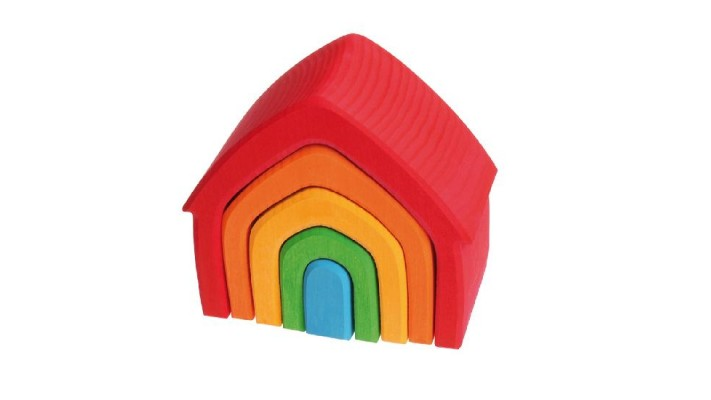 House, multi-coloured (5 pcs)