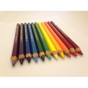 Crayons Lyra géants  - 11 couleurs