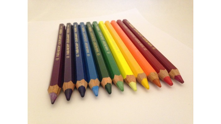 Lyra color Giants lacquered - 11 pencils