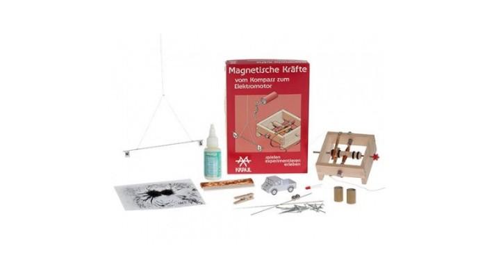 Les forces magnétiques -  Kit d'expérience  Kraul