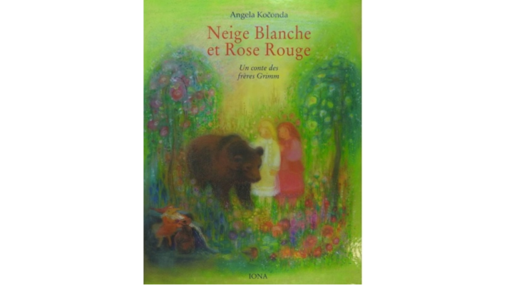 Neige Blanche et Rose rouge