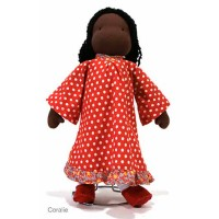 Waldorf Doll 16in, Coralie