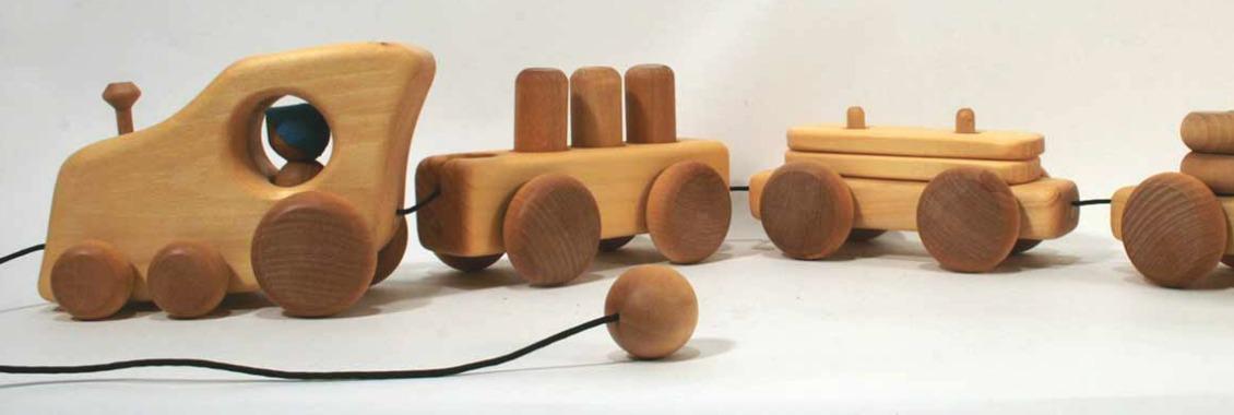 train de bois