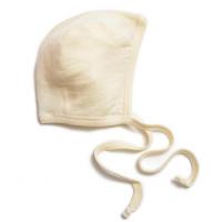 Bonnet pour bébé en laine et soie