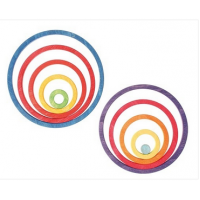 Concentric circles and rings