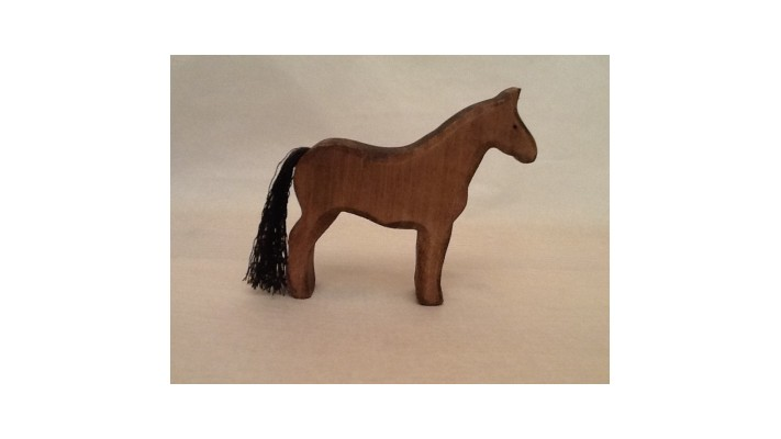 Mini horse dark dress