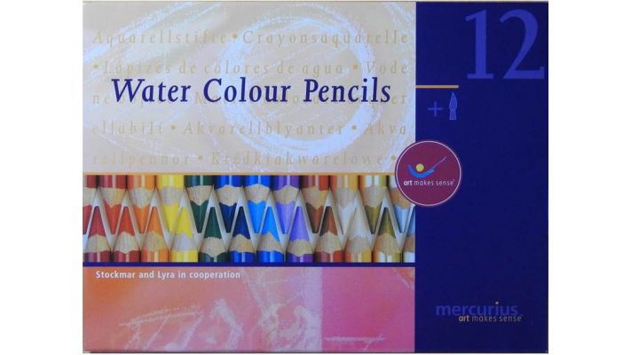 Water color pencil Lyar and Stockmar
