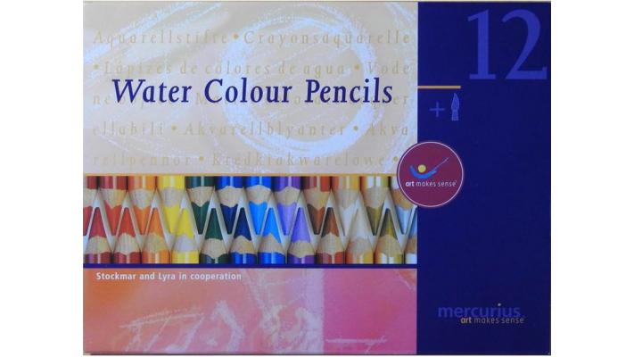 Crayons aquarelle Lyra et Stockmar