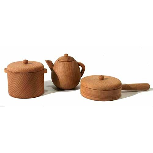 Petite batterie de cuisine en bois - Petite cuisine en bois ...