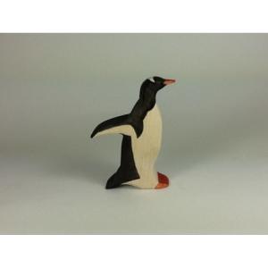 Pingouin papou qui coure