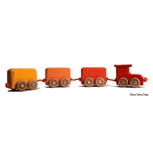 Train bois color - Tchou tchou le train ...