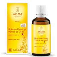 Weleda, huile pour le ventre de bébé