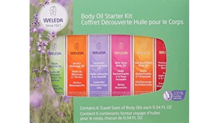 Weleda - collection d'huile de beauté
