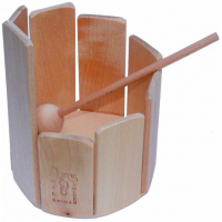 Wooden Xylophone Round
