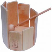 Xylophone de bois circulaire
